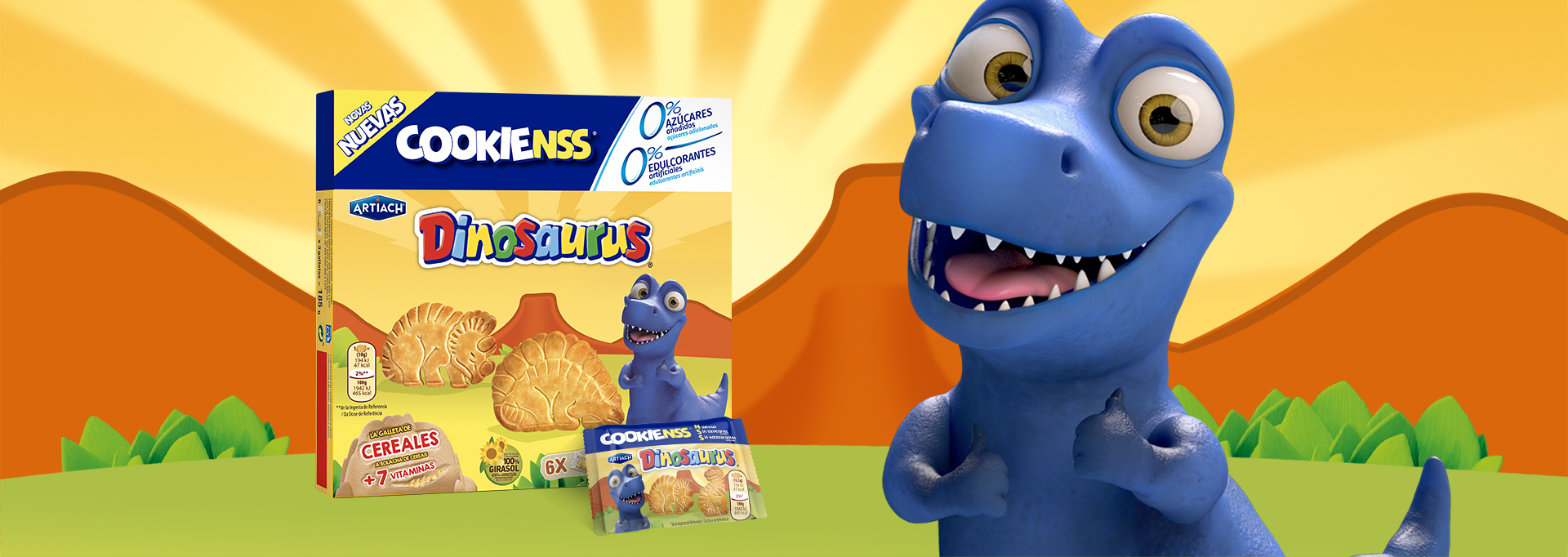 Galletas de Dinosaurus COOKIENSS